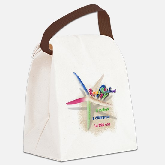 It Makes a Difference Canvas Lunch Bag