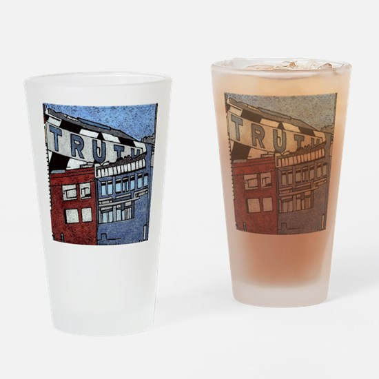 Large Truth Drinking Glass