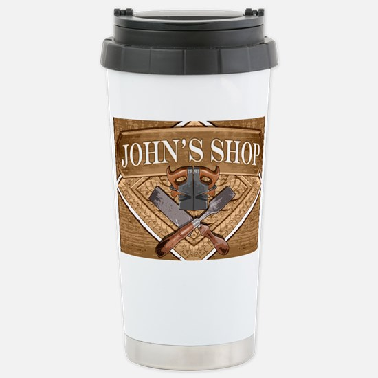 Johns Shop Stainless Steel Travel Mug