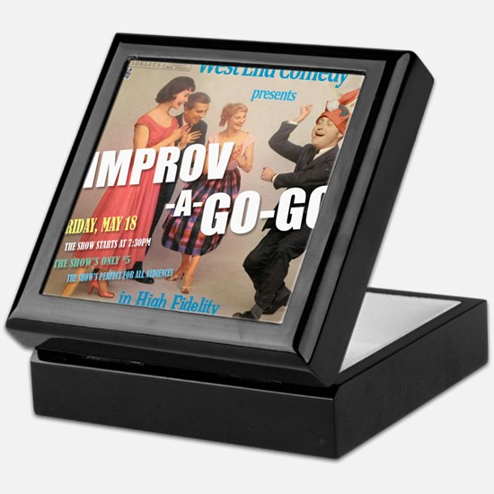 Improv A Go Go - G show HAT May 2012 Keepsake Box