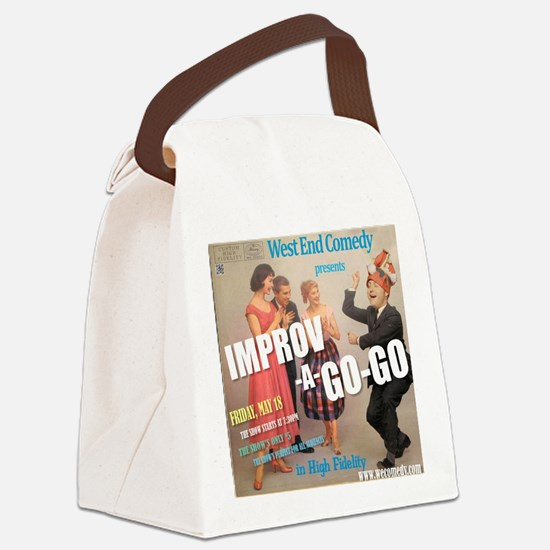 Improv A Go Go - G show HAT May 2 Canvas Lunch Bag