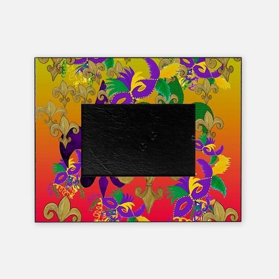 Mardi Gras Blast Picture Frame