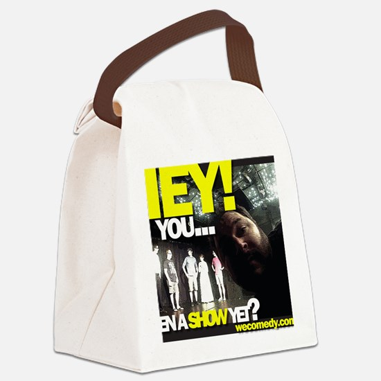 You seen a show yet? Canvas Lunch Bag