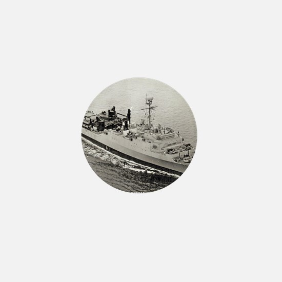 uss point defiance calendar Mini Button