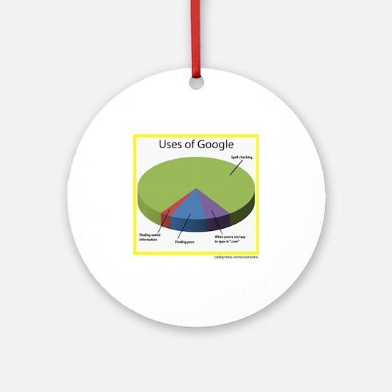 Google Uses Round Ornament