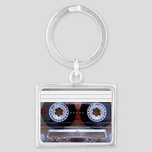 Cassette Music Tape Landscape Keychain