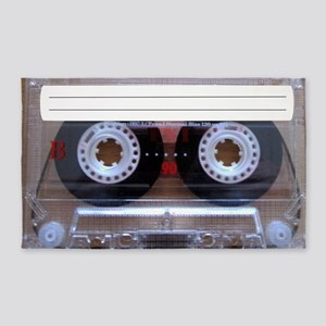 Cassette Music Tape 3'x5' Area Rug
