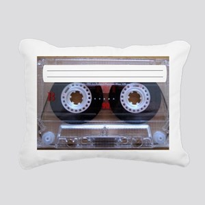 Cassette Music Tape Rectangular Canvas Pillow
