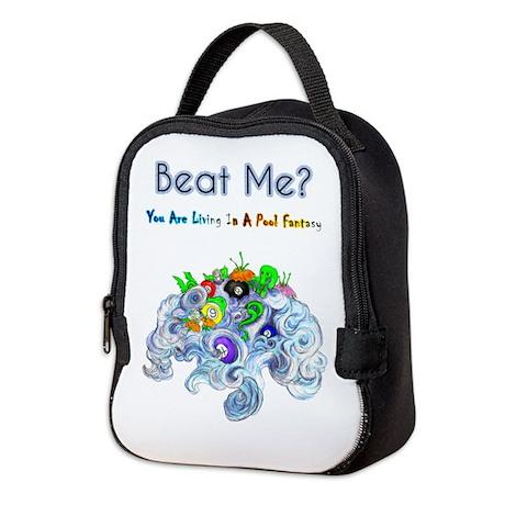Billiard Sea Dragons Neoprene Lunch Bag