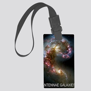 Antennae Galaxies Large Luggage Tag