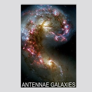 Antennae Galaxies Postcards (Package of 8)