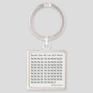 OCD Attack Square Keychain