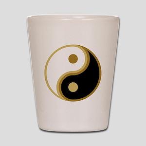 Yin Yang, Gold Shot Glass