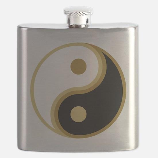 Yin Yang, Gold Flask