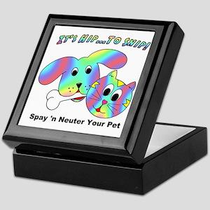 HIP TO SNIP - 8 x 10 Apparel Keepsake Box