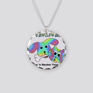 HIP TO SNIP - 8 x 10 Apparel Necklace Circle Charm