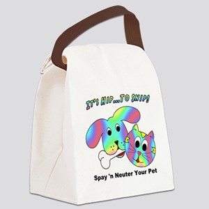 HIP TO SNIP - 8 x 10 Apparel Canvas Lunch Bag