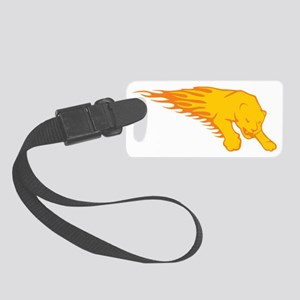 0102_Lion123 Small Luggage Tag