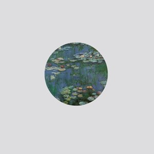 Claude Monet Water Lilies Mini Button