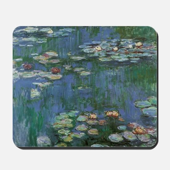 Claude Monet Water Lilies Mousepad