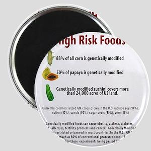 high risk gmo foods Magnet