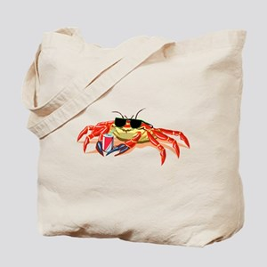 Cool Cancer Crab Tote Bag