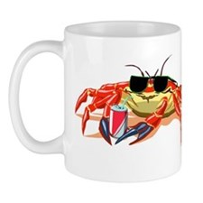 Cool Cancer Crab Mug