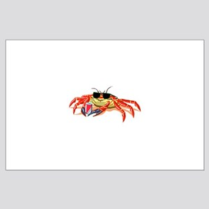 Cool Cancer Crab Large Poster