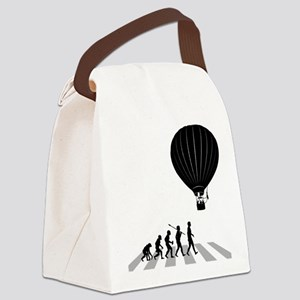 Ballooning Canvas Lunch Bag