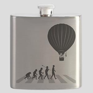 Ballooning Flask