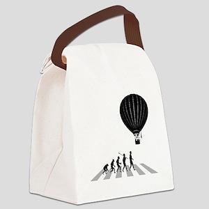 Ballooning-B Canvas Lunch Bag