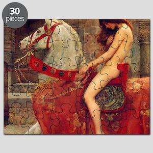 John Collier Lady Godiva Puzzle