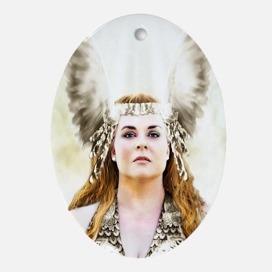 Brunnhilde, Heilige Braut Oval Ornament