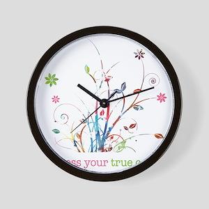 Express your true colors Wall Clock