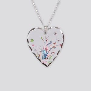 Express your true colors Necklace Heart Charm