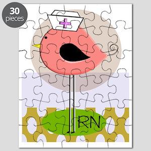 RN bird green yellow Puzzle