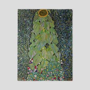 Gustav Klimt The Sunflower Twin Duvet