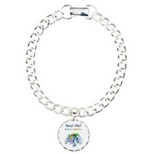Billiard Sea Dragons Charm Bracelet, One Charm