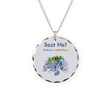 Billiard Sea Dragons Necklace Circle Charm