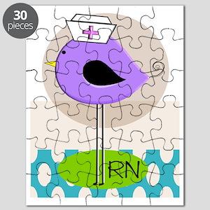 RN Bird Purple CASES Puzzle