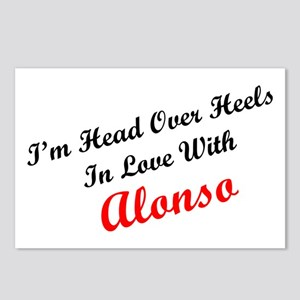 In Love with Alonso Postcards (Package of 8)