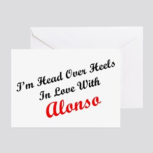 In Love with Alonso Greeting Cards (Pk of 10)