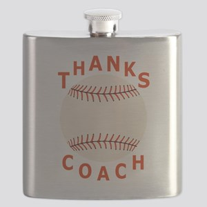 Baseball Coach Thank You Gifts Flask