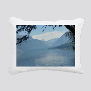Lake Macdonald Rectangular Canvas Pillow