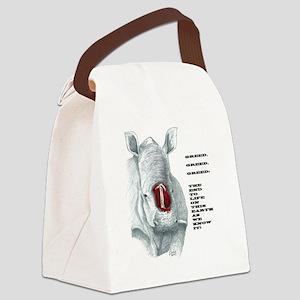 POACHER Canvas Lunch Bag