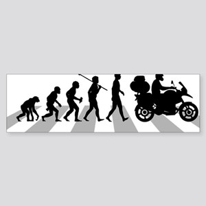Motorcycle-Traveller Sticker (Bumper)