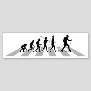 Nordic-Walking-B Sticker (Bumper)
