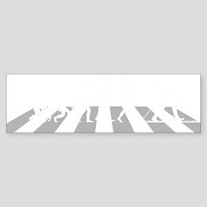 Nordic-Walking-A Sticker (Bumper)