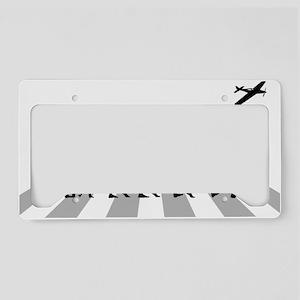 Remote-Control-Aeroplane License Plate Holder