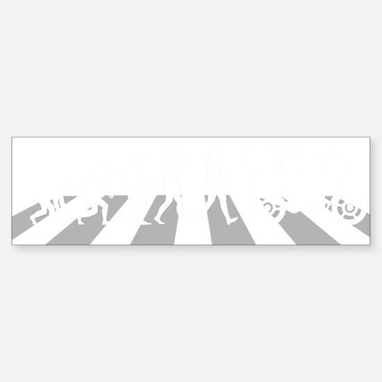 Motorcycle-Traveller-A Sticker (Bumper)